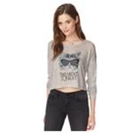 Aeropostale Womens Take Meowt Knit Sweater
