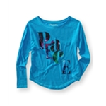 Aeropostale Womens Sparkle Peace Graphic T-Shirt