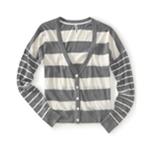 Aeropostale Womens Lightweight Stripe Knit Sweater