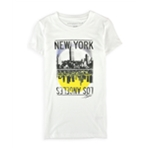 Aeropostale Womens New York To Los Angeles Graphic T-Shirt