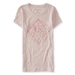 Aeropostale Womens Logo Circle Graphic T-Shirt