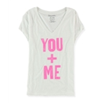 Aeropostale Womens You + Me Graphic T-Shirt