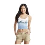 Aeropostale Womens Beach Crop Tank Top