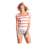 Aeropostale Womens Cropped Ss Graphic T-Shirt