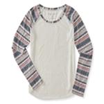 Aeropostale Womens Geo Raglan Graphic T-Shirt