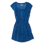 Aeropostale Womens Printed Shirt Dress