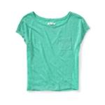Aeropostale Womens Sweater Front Embellished T-Shirt