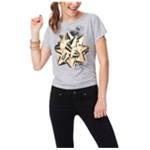 Aeropostale Womens Gold Star Graphic T-Shirt