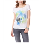 Aeropostale Womens Peace Rose Graphic T-Shirt