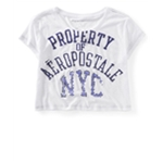 Aeropostale Womens Property Of Nyc Graphic T-Shirt