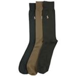 Ralph Lauren Mens 3 Pack Supersoft Dress Socks