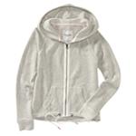 Aeropostale Womens Cinched Full Zip Hoodie Sweatshirt