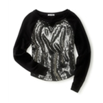 Aeropostale Womens Sparkle Over Sparkle Sweatshirt