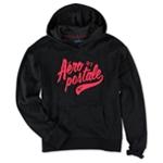 Aeropostale Womens Puff Script NY Hoodie Sweatshirt