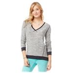 Aeropostale Womens Tight V Neck Knit Sweater