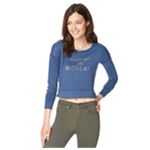 Aeropostale Womens Crop Pullover Sweater