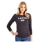 Aeropostale Womens Latte Me Sweatshirt