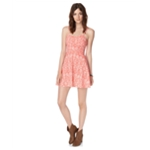 Aeropostale Womens Sweetheart Floral A-line Dress