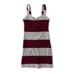 Aeropostale Womens Stripe Jersey Knit Tank Dress