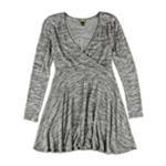 Aeropostale Womens Wrap Front Sweater Dress