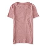 Aeropostale Womens Heathered Basic T-Shirt