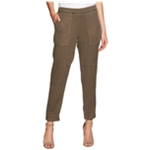 1.STATE Womens Soft Twill Casual Cropped Pants