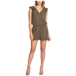 1.STATE Womens Ruffled Romper Jumpsuit