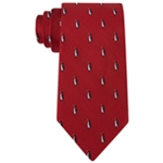 Tommy Hilfiger Mens Holiday Penguin Self-tied Necktie