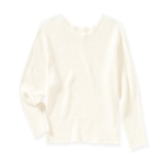 Aeropostale Womens Cropped Dolman Pullover Sweater