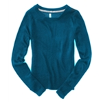 Aeropostale Womens Ls Crew Neck Knit Sweater