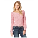 Aeropostale Womens Marled Knit Pullover Sweater