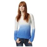 Aeropostale Womens Dip-Dye Pullover Sweater