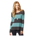 Aeropostale Womens Rugby Stripe Knit Sweater