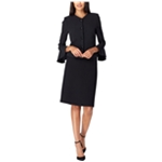 Tahari Womens Solid A-line Skirt