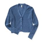 Aeropostale Womens Diamond Honeycomb Cardigan Sweater
