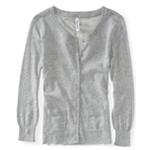 Aeropostale Womens Sheer Back Cardigan Sweater