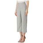Tahari Womens Plaid Casual Cropped Pants