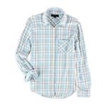 Aeropostale Womens Plaid Button Up Shirt