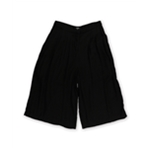 XOXO Womens Solid Culotte Dress Trousers