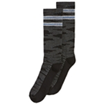Perry Ellis Mens Casletic Printed Midweight Socks