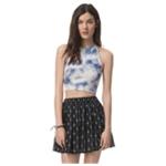 Aeropostale Womens Geo Flippy Mini Skirt