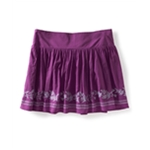 Aeropostale Womens Vine Knit Mini Skirt
