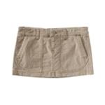 Aeropostale Womens Solid Corduroy Skirt