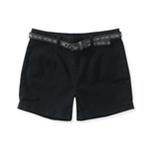 Aeropostale Womens High-Rise Casual Mini Shorts