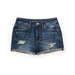 Aeropostale Womens High-Rise Shorty Casual Mini Shorts