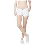 Aeropostale Womens Eyelet Casual Walking Shorts