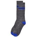 Perry Ellis Mens Luxe Heel & Stripe Dress Socks