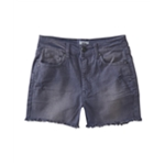 Aeropostale Womens High-Waisted Casual Denim Shorts
