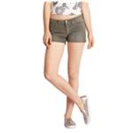 Aeropostale Womens Midi Casual Corduroy Shorts