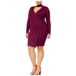 Say What? Womens Gigi Wrap Dress